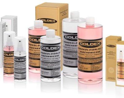 Goldex. Fotografia produktów firmy