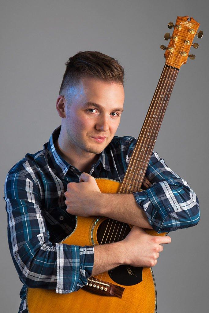 Nikodem Gosławski - muzyk, sesja wizerunkowa