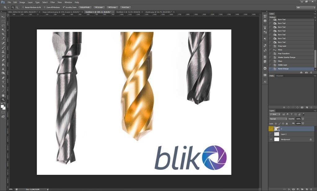 Interfejs programu Photoshop CS6